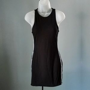 Urban Outfitters Sporty Black Sleeveless Dress S